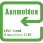 aanmeldknop live event
